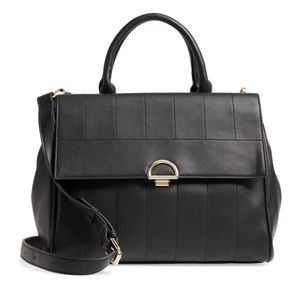 Sole Society Tracy Satchel w/Crossbody strap
